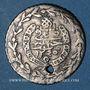 Münzen Algérie. Mahmoud II (1223-1255H = 1808-1839). 1/3 boudjou 1245H (= 1830). Alger