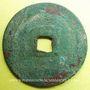 Münzen Annam. Maison des Hô (1400-1407). Hô Qui Ly (1400-1403) - ère Thanh Nguyên (1400-1403). Sapèque