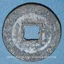 Münzen Annam, Monnayages privés (XVII-XVIIIe), inscriptions monétaires chinoises (1746-74), sapèque