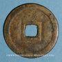 Münzen Annam. Thanh Tô (1820-1840) - ère Minh Mang (1820-1840). 9 phan, laiton
