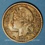 Münzen Cameroun. Territoires sous mandat français (1919-1945). 1 franc 1924