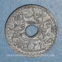 Münzen Tunisie. Ahmed II, bey (1348-1361H = 1929-1942). 20 centimes 1942