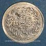 Münzen Tunisie. Ali III, bey (1299-1320H = 1882-1902). 1/2 piastres ou 8 kharoubs 1303H (= 1886)
