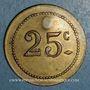 Münzen Tunisie. Tunis. A. Bourdon. Entrepreneur. 25 centimes