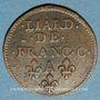 Münzen Ardennes. Principauté d'Arches & Charleville. Charles II de Gonzague (1637-59). Liard 1656