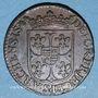 Münzen Ardennes. Principauté d'Arches et de Charleville. Charles I de Gonzague (1601-1637). Liard 1613.