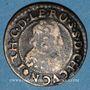Münzen Ardennes. Seigneurie de Cugnon. Jean-Théodore (1611-1644). Double tournois 1634