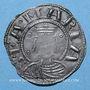 Münzen Auvergne. Evêché de Clermont. Monnayage anonyme (13e siècle). Denier