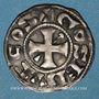 Münzen Berry. Comté de Gien et Seigneurie de Donzy. Geoffroi III (1120-1160). Denier