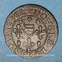 Münzen Berry. Princ. de Boisbelle & Henrichemont. Maximilien de Béthune, duc de Sully. Double tournois 1636
