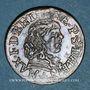 Münzen Berry. Princ. de Boisbelle & Henrichemont. Maximilien de Béthune, duc de Sully. Double tournois 1642