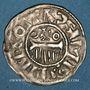 Münzen Champagne. Comté de Provins et Sens (XIe siècle). Denier au peigne