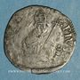 Münzen Comtat Venaissin. Pie V (1566-72). Au nom de Charles de Bourbon. Demi-gros. Avignon