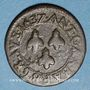Münzen Comtat Venaissin. Urbain VIII (1623-1644). Double tournois 1637