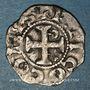 Münzen Comté d'Anjou. Foulques V (1109-1129) et Geoffroi IV (1129-1151). Denier