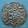 Münzen Comté d'Anjou. Geoffroi II (1040-1060) et Geoffroi III (1060-1069). Denier
