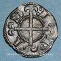 Münzen Dauphiné. Evêché de Saint-Paul-Trois-Châteaux. Monnayage anonyme (1225-1250). Obole (billon)