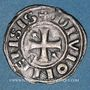Münzen Duché de Bourgogne. Eudes II (1143-1162). Denier. Dijon