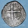Münzen Duché de Bourgogne. Eudes IV (1315-1349). Tiers de gros au petit écu de Bourgogne couronné