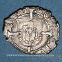 Münzen Franche Comté. Cité de Besançon. Blanc (= 1/2 carolus) 1585