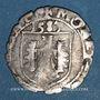 Münzen Franche Comté. Cité de Besançon. Carolus 1583