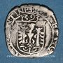 Münzen Franche Comté. Cité de Besançon. Carolus 1593