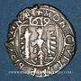 Münzen Franche Comté. Cité de Besançon. Carolus 1619. Type avec CAROLVS : V