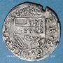 Münzen Franche Comté. Comté de Bourgogne. Philippe II (1556-1598). Gros 1588. Dôle