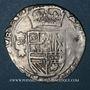 Münzen Franche-Comté. Comté de Bourgogne. Philippe IV (1621-1665). 2 gros (=1/16 patagon) 1624. Dôle