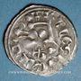 Münzen Orléanais. Comté de Blois. Gui 1er de Châtillon (1303-1342). Denier frappé à partir de 1306