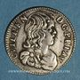Münzen Principauté d'Orange. Guillaume-Henri de Nassau (1650-1702). 1/12 écu 1659
