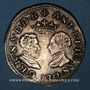 Münzen Seigneurie de Béarn. Antoine de Bourbon et Jeanne d'Albret (1555-1562). Teston 1563