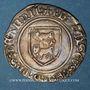 Münzen Seigneurie de Béarn. François Phébus (1479-1483). Blanc. Morlaàs. Variante inédite !