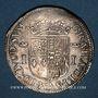 Münzen Seigneurie de Béarn. Jeanne d'Albret (1562-1572). Teston 1566. Pau