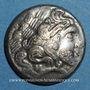 Münzen Calètes (pays de Caux) (2e siècle av. J-C). Hémistatère à la roue