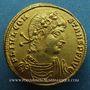 Münzen Constant (337-350). Solidus frappé à Thessalonique, 5e officine (337-340). Inédit !