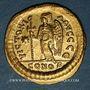 Münzen Empire byzantin. Anastase (491-518). Solidus. Constantinople, 5e officine (498-518)