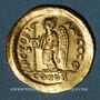 Münzen Empire byzantin. Anastase (491-518). Solidus. Constantinople, 9e officine, 498-518