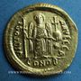 Münzen Empire byzantin. Justinien I (527-565). Solidus. Constantinople, 1ère officine (527-538)