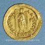 Münzen Empire romain d'orient. Léon I (457-474). Solidus. Constantinople, 3e officine, 462 ou 466
