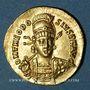 Münzen Empire romain d'Orient. Théodose II (408-450). Solidus. Constantinople, 10e officine, 408-420