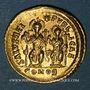 Münzen Empire romain d'Orient. Théodose II (408-450). Solidus. Constantinople, 426-430