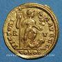 Münzen Honorius (393-423). Solidus. Ravenne, 402-406