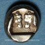 Münzen Lesbos. Mytilène (454-428/7 av. J-C). Hecté (1/6 de statère d'électrum)