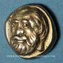 Münzen Lesbos. Mytilène (454-428 av. J-C). Hecté (1/6 de statère d'électrum)