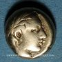 Münzen Lesbos. Mytilène. Hecté (= 1/6 de statère), 454-428 av. J-C