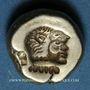 Münzen Lesbos. Mytilène. Hecté en électrum (= 1/6 statère), 521-478 av. J-C