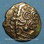 Münzen Suessiones (région de Soissons). Fin du 2e - 1ère moitié du 1er siècle av. J-C. Statère à l'ancre