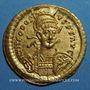 Münzen Théodose II (402-450). Solidus. Constantinople, 443-450
