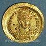 Münzen Théodose II (408-450). Solidus. Constantinople, 408-450
